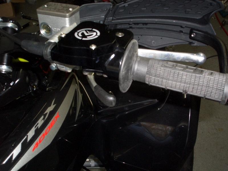 moose racing dual gasser thumb twist throttle combo
