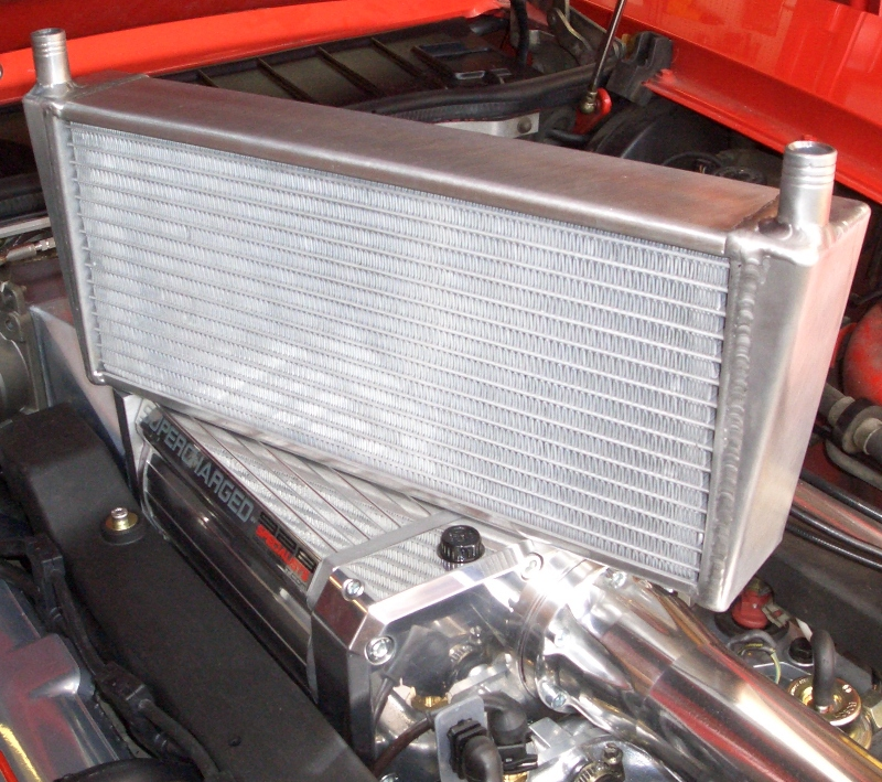 Roots Or Centrifugal Supercharger: 928 Specialists Intercooler HEAT EXCHANGER